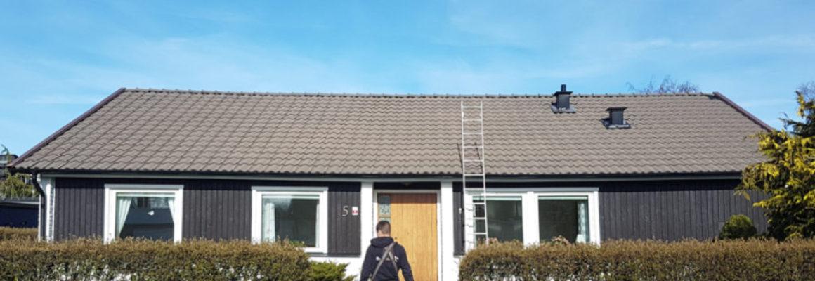 katuste puhastamine ja värvmine enne